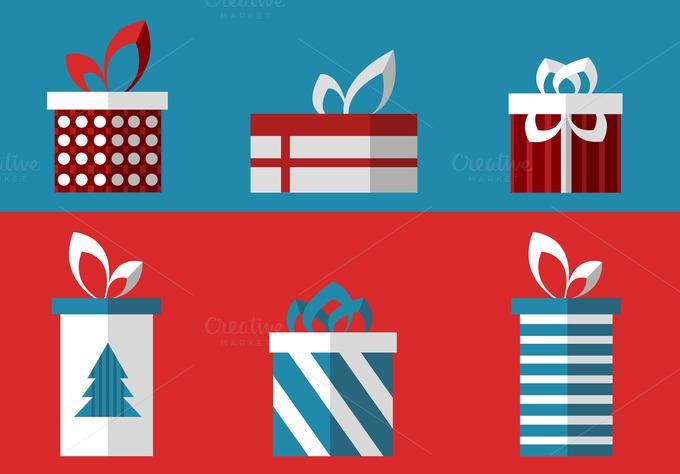 Christmas Presents Set