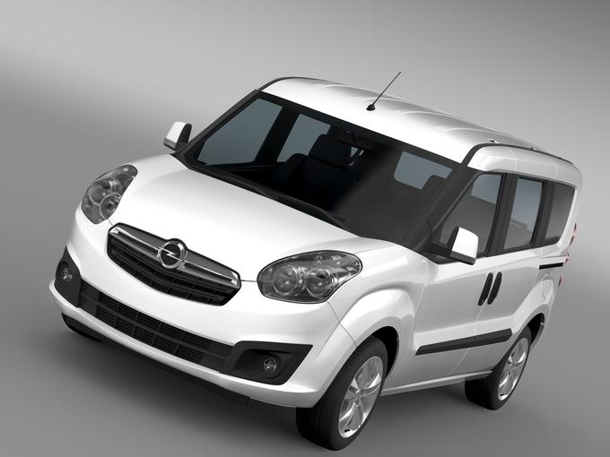 Opel Combo Tour ecoFLEX (D) 2015