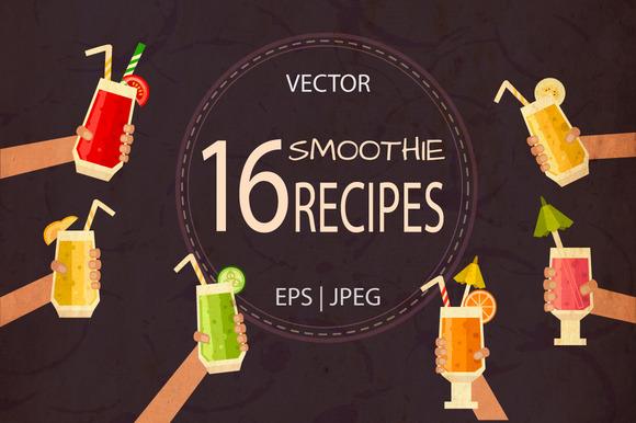 16 Vector Smoothie Recipes