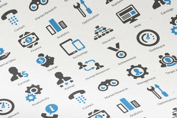 20 Business Icons Vol. 1 - Icons