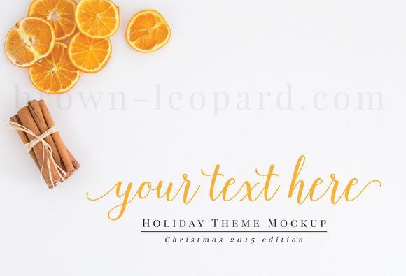 Christmas Styled Stock Photography