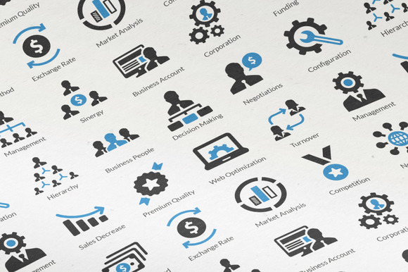 20 Business Icons Vol. 4 - Icons