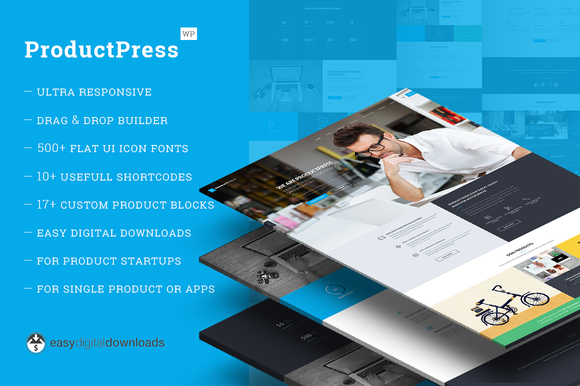 ProductPress EDD WordPress Theme