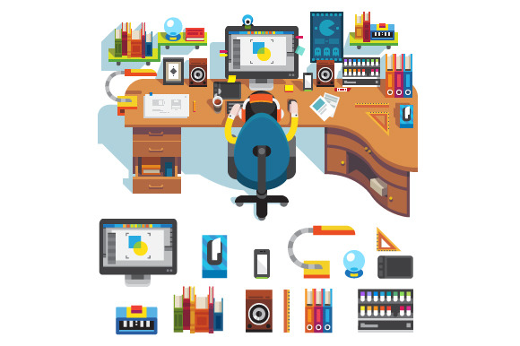 Workplace Of Design Professional