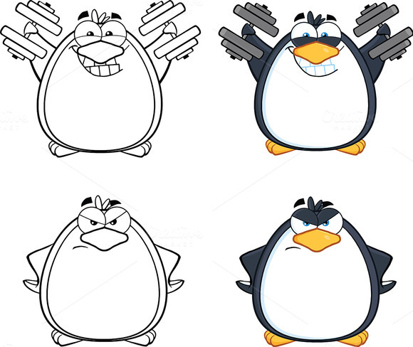Penguin Characters Collection 5