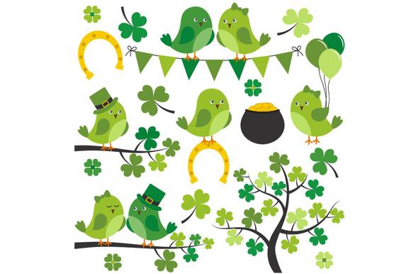 St. Patrick Birds - Illustrations