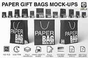 Paper Shopping Bag Mockups -Graphicriver中文最全的素材分享平台