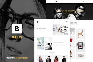 Balis - portfolio WordPress theme