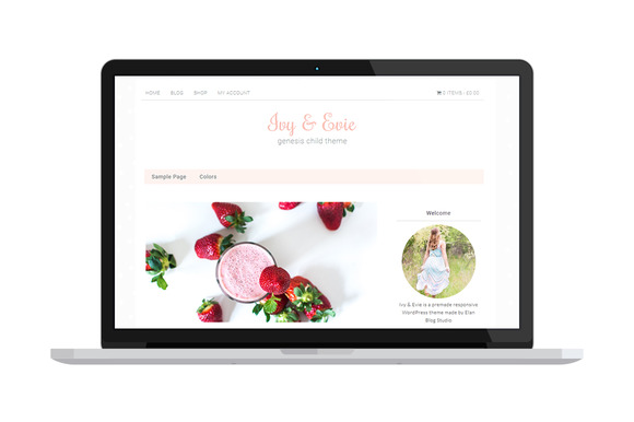 Ivy & Evie eCommerce WordPress Theme