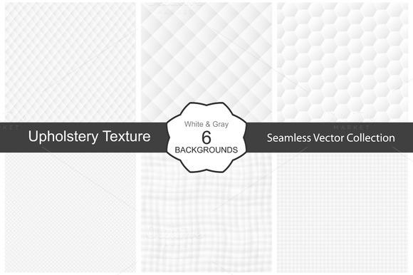 Decorative White Textures Seamless