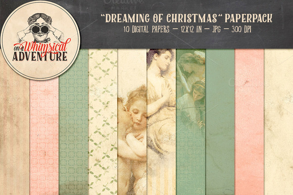 Dreaming Of Christmas Papers