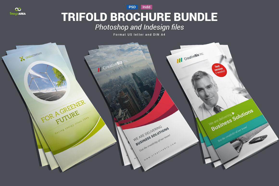 tri fold pamphlet maker