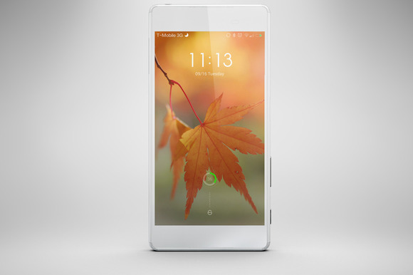 Sony Xperia Z5 Mock Up