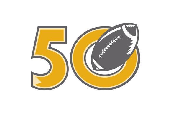 50 Pro Football Championship Ball