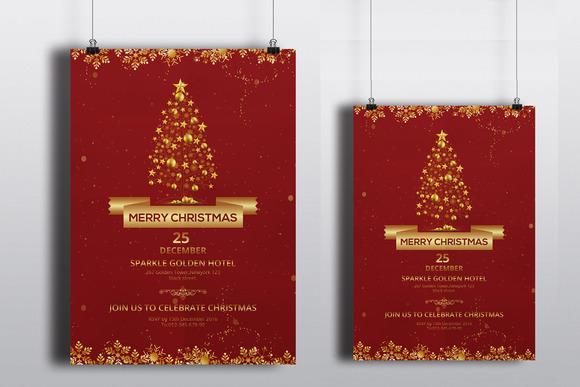 christmas party flyer v122 flyer templates on creative. Black Bedroom Furniture Sets. Home Design Ideas