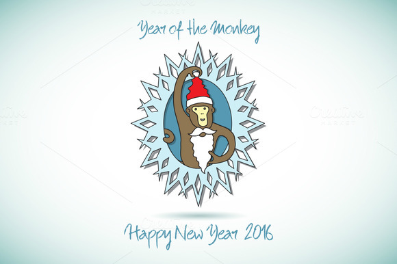 Year of the Monkey. 2016 - Illustrations