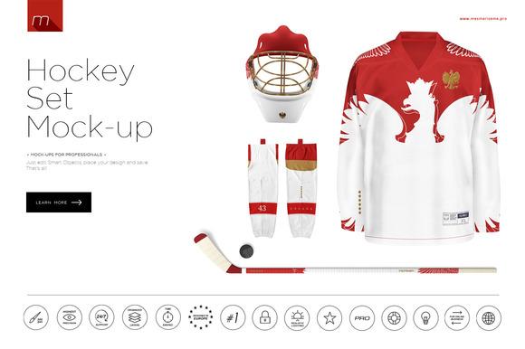 Hockey Set Mock-up
