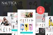 Nautica - Fashion eCommerce-Graphicriver中文最全的素材分享平台
