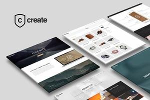 Create - Multipurpose WP Theme