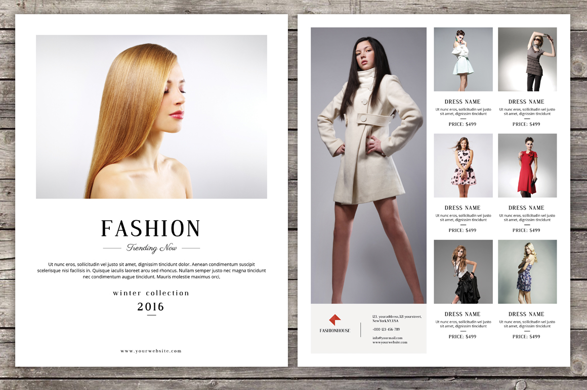 Template 25 Best Fashion Flyer Psd Templates Amp Designs