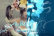 Winter Pack Photoshop Add O-Graphicriver中文最全的素材分享平台