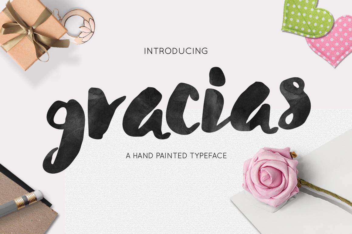 Gracias Typeface - Script - 1