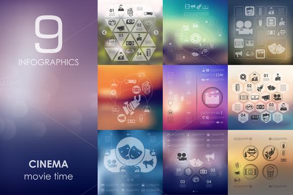 9 Cinema Infographics