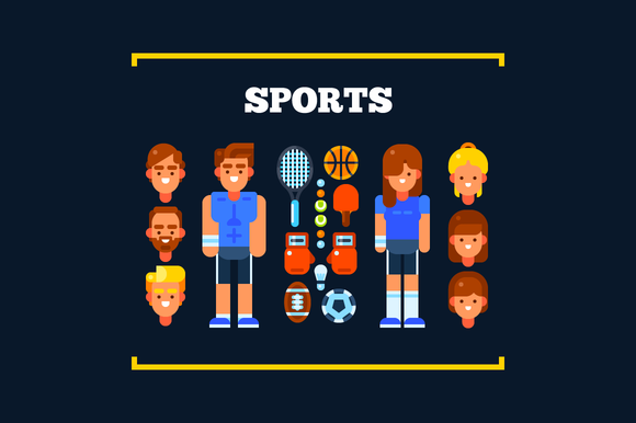 Sports People And Sports Stuff