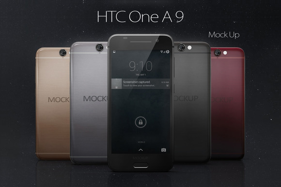 HTC One A9 Mock Up