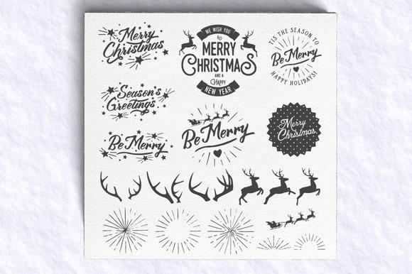 -30% OFF Christmas Photo Overlays