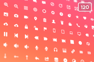 Glyphies 120 (Icon Pack)