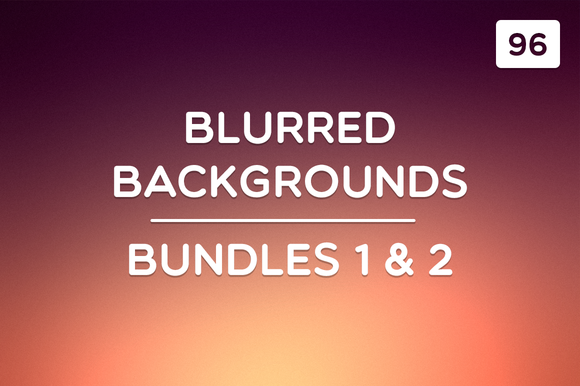 96 Blurred Backgrounds