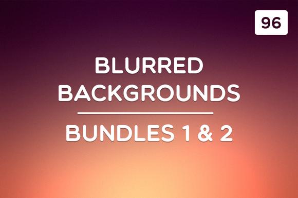 96 Blurred Backgrounds (Ult. Bundle) - Textures