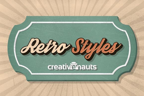 Retro Styles For Adobe Photoshop