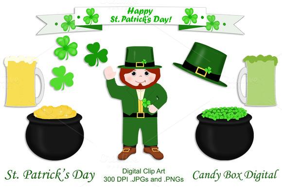 St. Patrick's Day Clip Art - Illustrations