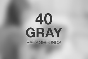 Gray Backgrounds