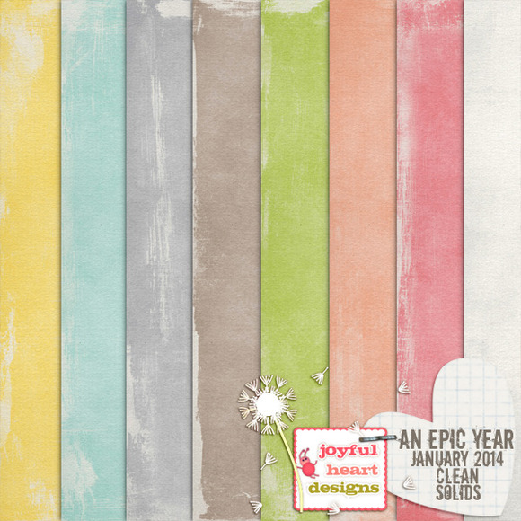 An Epic Year-Jan. {clean solids} - Patterns