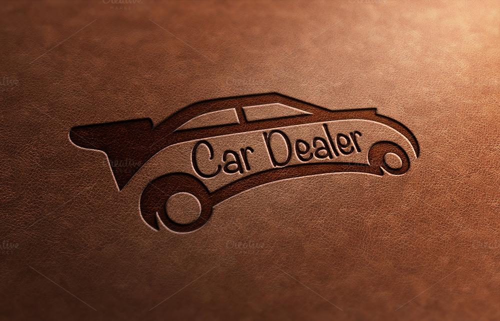 Car Dealer Logo Design ~ Logo Templates on Creative Market
