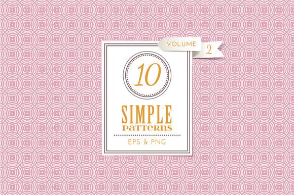 Set of 10 simple patterns Vol. 2 - Patterns