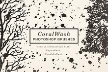 CoralWash Photoshop Brushes