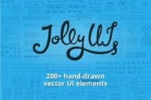 Jolly UI Kit: Hand-drawn UI elements
