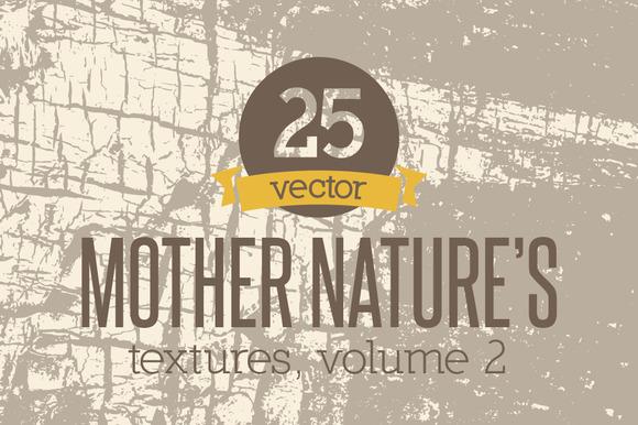 Vector Textures Mother Nature Vol 2