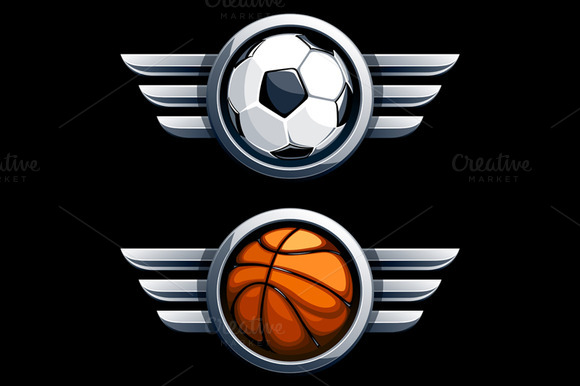 Balls With Metal Wings