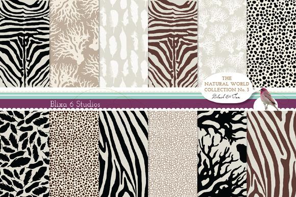 Natural Animal Digital Patterns N.3 - Patterns