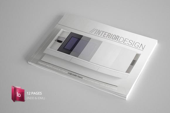 Indesign catalogue template brochure templates on creative market for Catalogue templates indesign