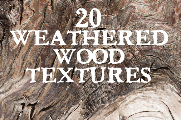 Weathered Wood 20 Textures