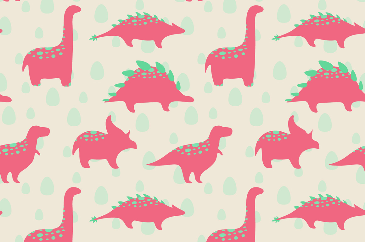 Funny dinosaurs ~ Illustrations on Creative Market