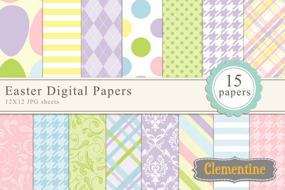 easter pixels papers digital wide tall creativemarket timeline superhero creative