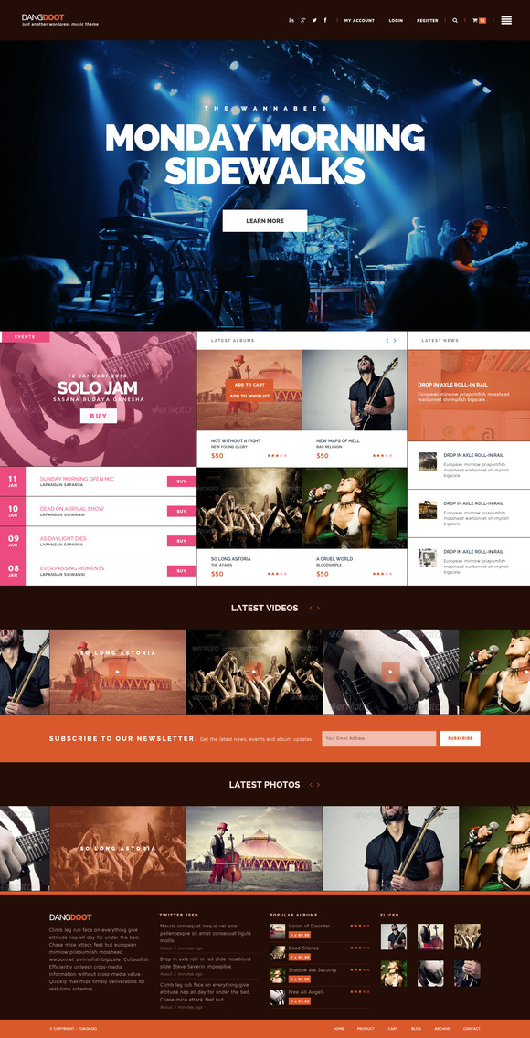Keronchong – Music, Event Band Theme