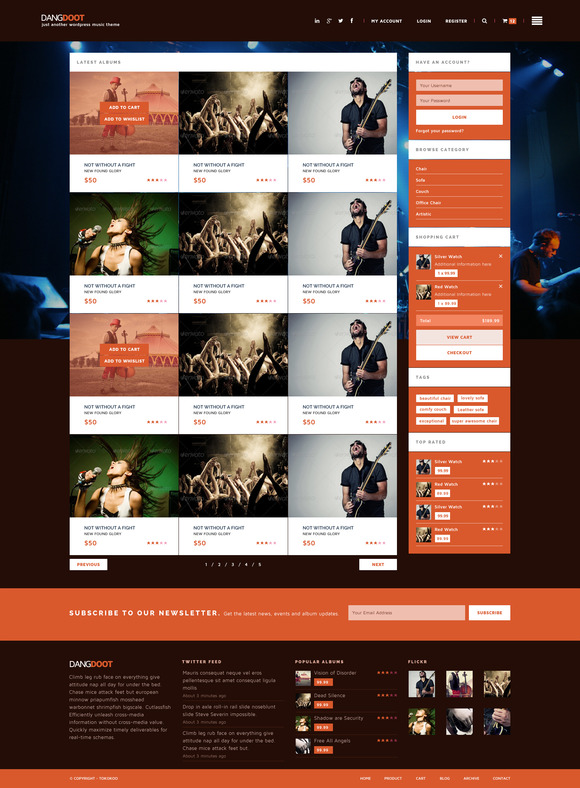 Keronchong - Music, Event Band Theme